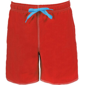 arena Fundamentals Solid Boxer Men red-turquoise